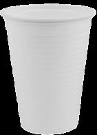 Plastic beker 180cc koffie beker voor koud en heet water