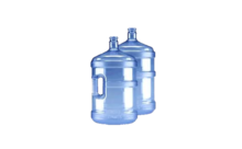 Bronwater flessen